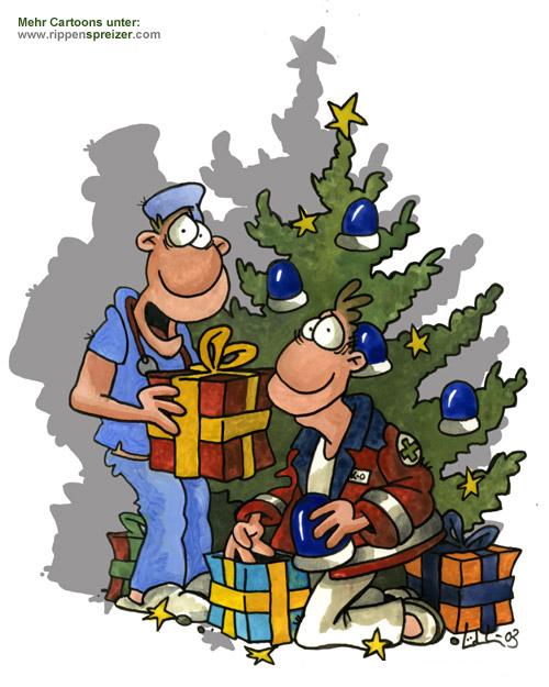 Rippenspreizer wünscht frohe Weihnachten