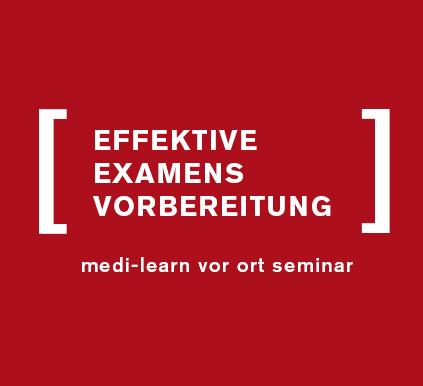 "Kostenloses Seminar ""Effektive Examensvorbereitung"""